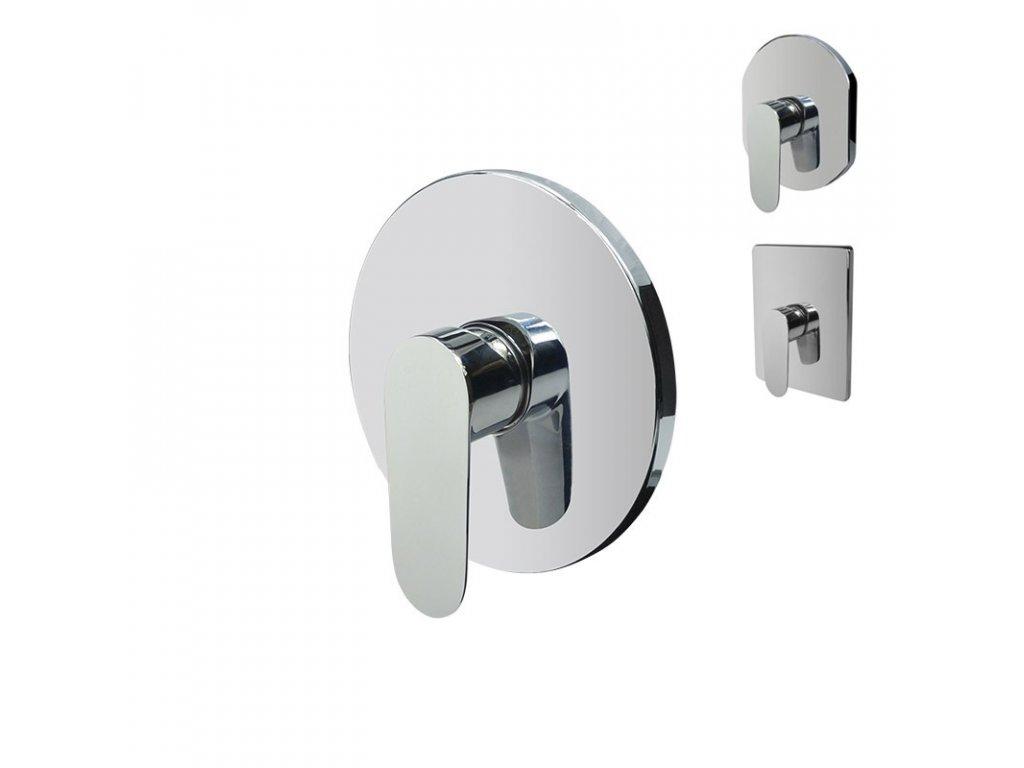 Sprchová podomítková baterie bez přepínače, Viana, Mbox