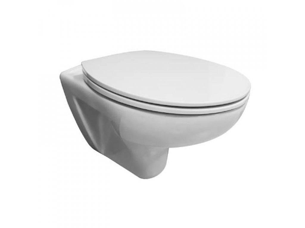 WC závěsný klozet se soft close sedátkem CSS114S