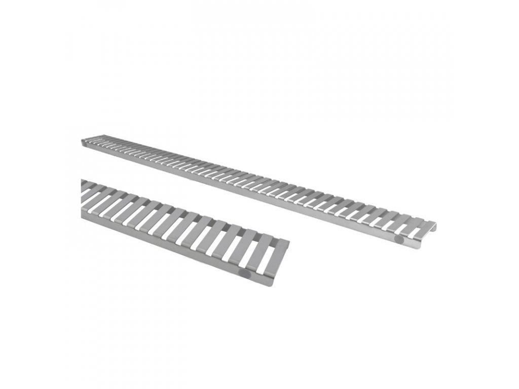 Rošt Strip pro odtokový žlab Slim, 70x5,5 cm, nerez