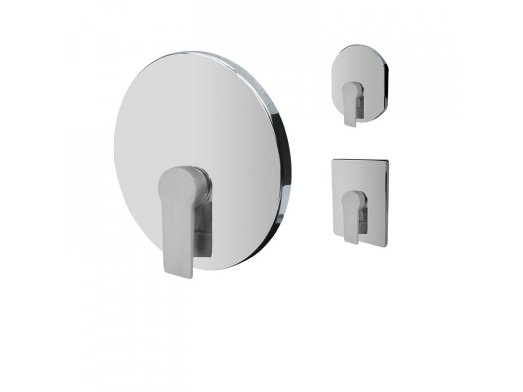 Sprchová podomítková baterie bez přepínače, Dita, Mbox