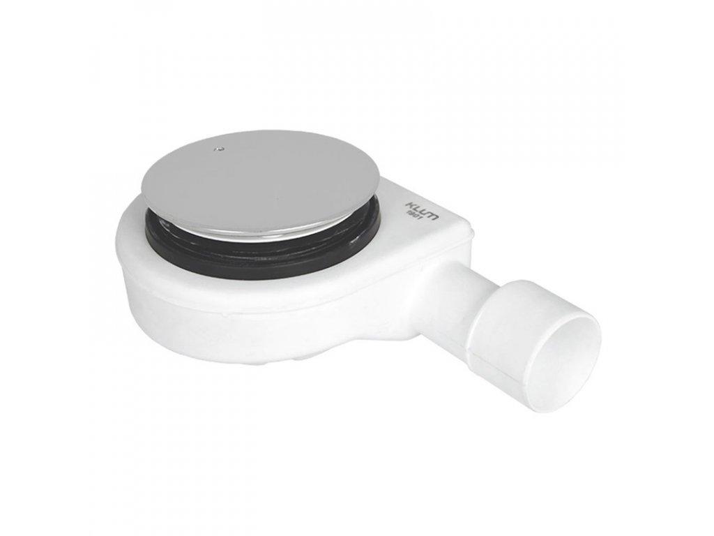 Sifon pro sprchovou vaničku, pr. 90 mm, stav. výška 65 mm