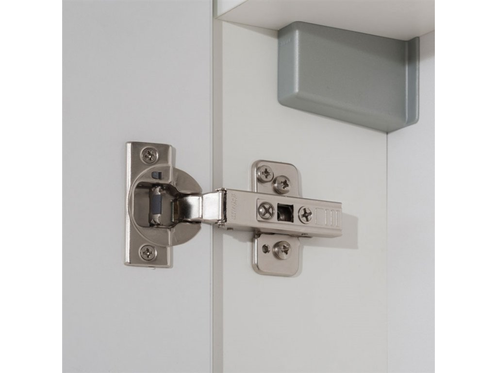 Leny, koupelnová skříňka, závěsná, bílá, 330x675x250 mm