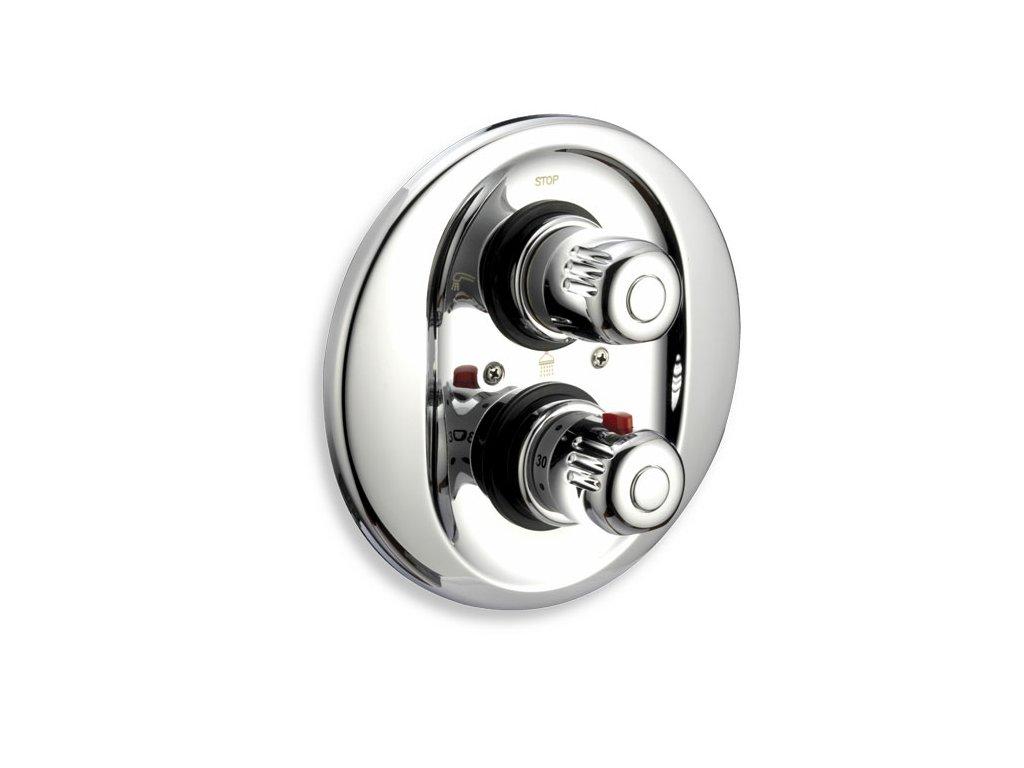 Sprchová termostatická baterie 3-cestný ventil Aquamat chrom
