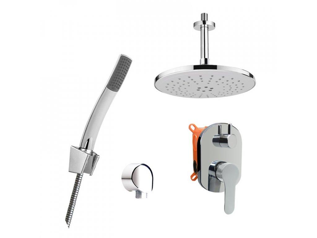 Sprchový set Zuna s dvoucestnou podomítkovou bateríí