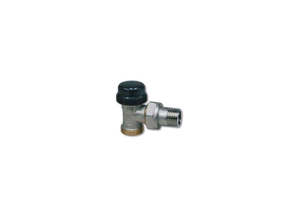 """Termostatický ventil dvouregulační - 1/2""""xEK; rohový(500806)"""