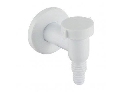 Sifon pračkový se zpětnou klapkou ø 32 mm, bílý plast
