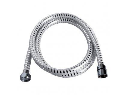 Sprchová hadice 150 cm, bílá - chrom