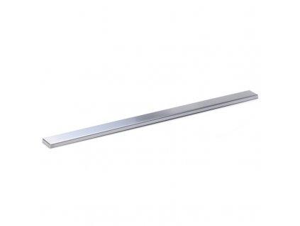Rošt Tile pro odtokový žlab Slim, 70x5,5 cm, nerez