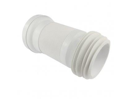 WC napojení ø 110 mm, flexi, vestavná délka 150 - 500 mm