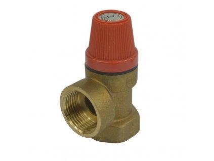 """Pojišťovací ventil pro bojler s pevně nastaveným tlakem 1/2"""""""
