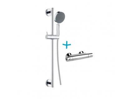 Sprchový set: termostatická baterie + sprch. souprava CB900C