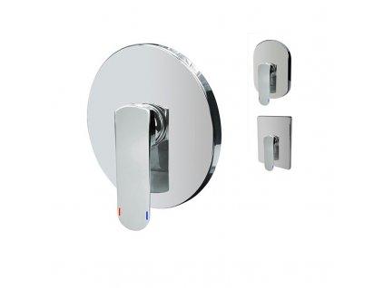 Sprchová podomítková baterie bez přepínače, Mada, Mbox