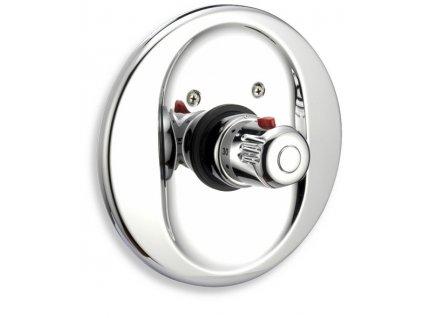 Podomítkový termostat Aquamat chrom
