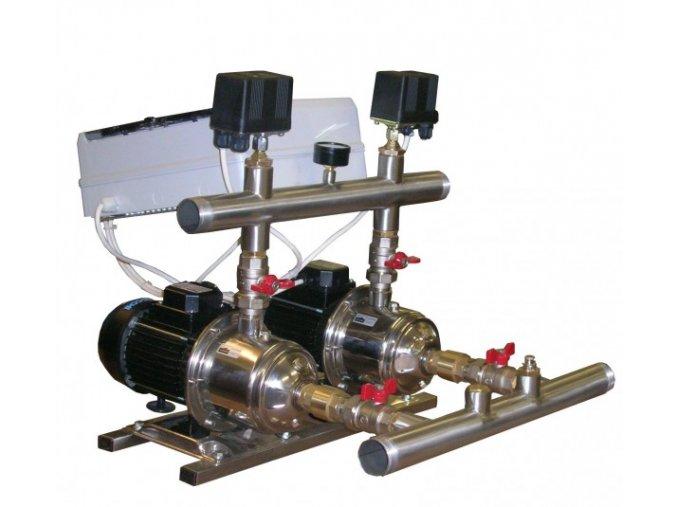Automatická tlaková stanice - 2ks čerpadel, tlakové spínače (CPS 10)