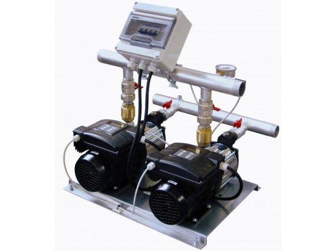 Automatická tlaková stanice - 2ks čerpadel, frekvenční měniče (CPS 20)