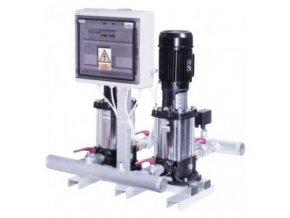 SENSORMAT - tlakové stanice se 2ks čerpadel - vertikal. VLR