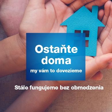 Ostaňte doma