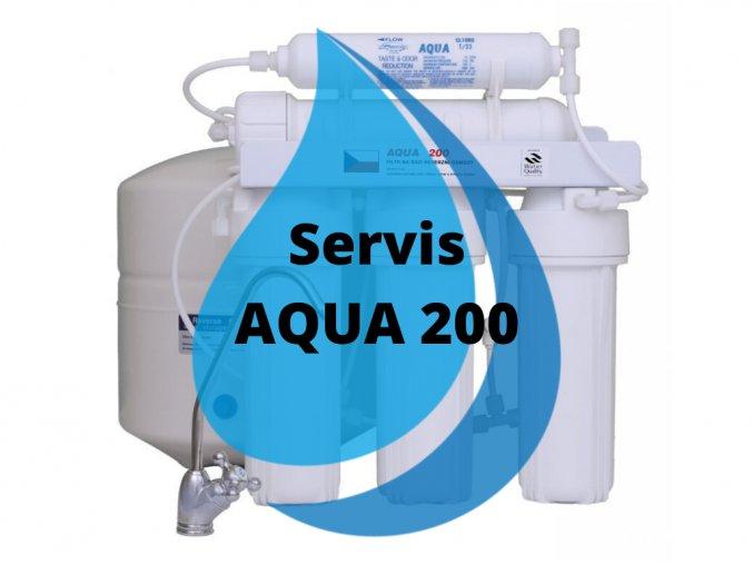 Servisná výmena AQUA 200