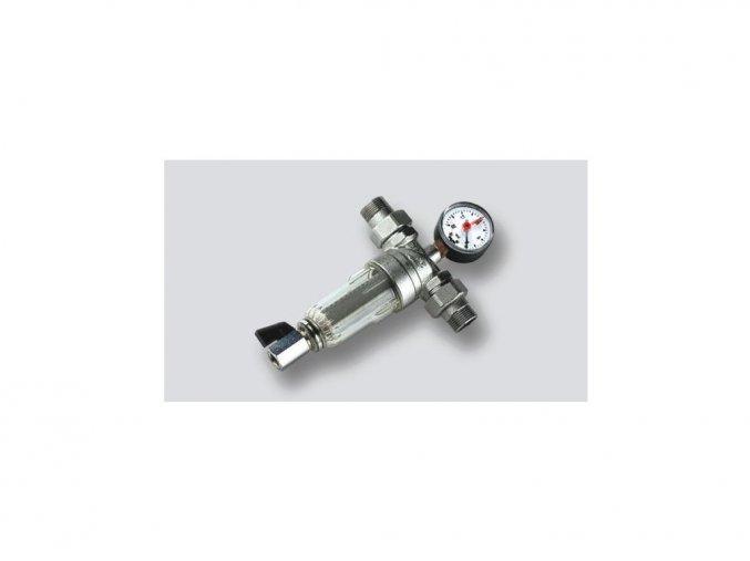 Mechanický filter s manometrom 16 barov