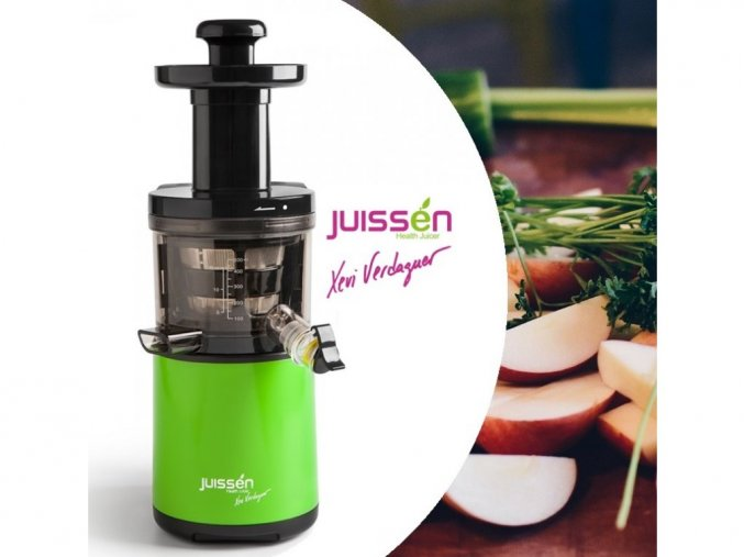 Odšťavovač JUISSEN Xevi Verdaguer  šnekový odšťavovač ovocia a zeleniny
