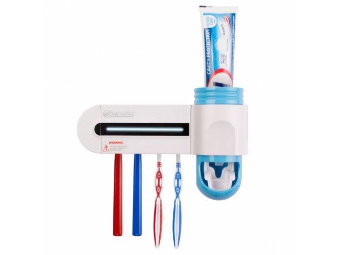 dávkovač pasty a sterilizátor zubných kefiek Helpmation GFD 302