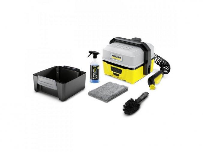 Mobilná outdoorová umývačka Kärcher OC 3 BIKE BOX