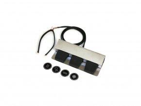 Pedálový panel pre bezkontaktné ovládanie výdajníka vody