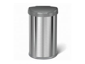 ST2010 bezdotykovy odpadkovy kos Simplehuman kartacovana nerez ocel plast