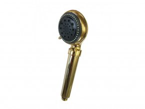 643 sprchova hlavica s filtrom zlata