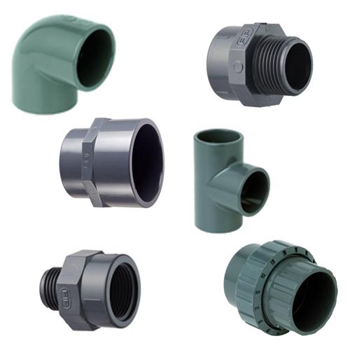 PVC tvarovky