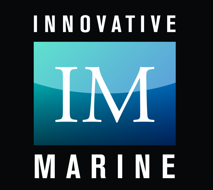 Innovative Marine Logo White