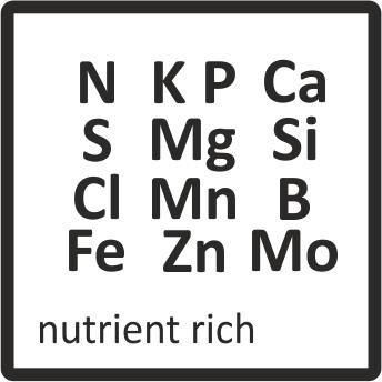 nutrient-rich
