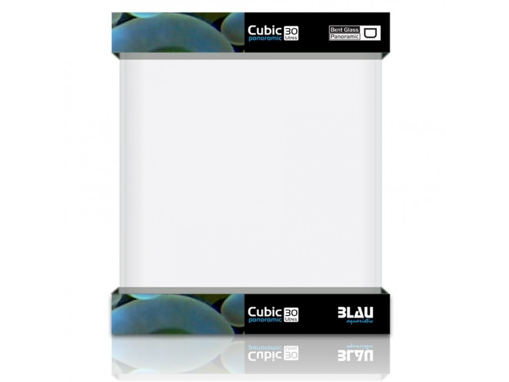 blau aquaristic blau kit nano cubic panorama 32l