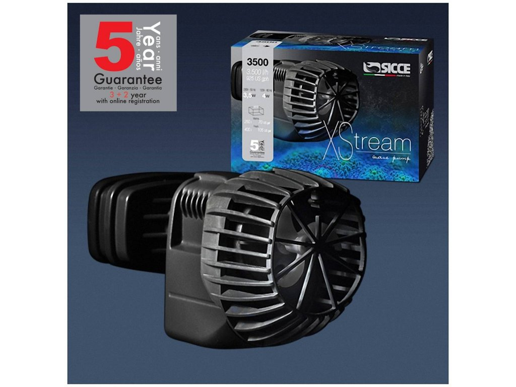 sicce xstream 3500 wave pump 3500