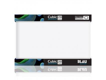 blau aquaristic blau kit nano cubic panorama 28l