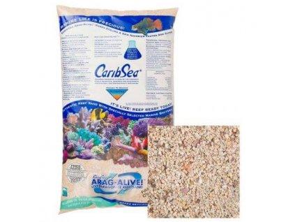 Caribsea Live sand Ocean Direct aragonite 1 3mm 9 07 kg doos a 2 st