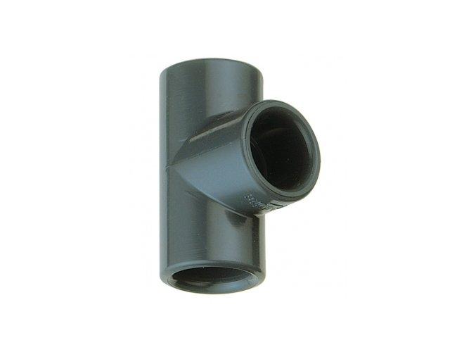 T-kus 90° na lepenie  PVC tvarovky - T-kus 90° na lepenie