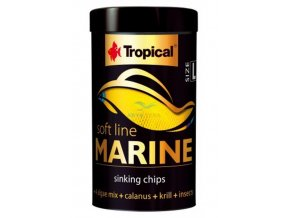 tropical soft line marine size l tin 250ml 130g