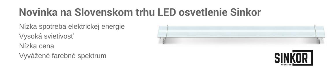 Sinkor LED akvarijné svetlá