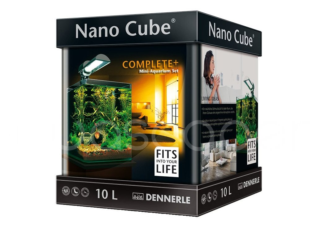 dennerle akv rium nanocube complete 10 l dennerle. Black Bedroom Furniture Sets. Home Design Ideas