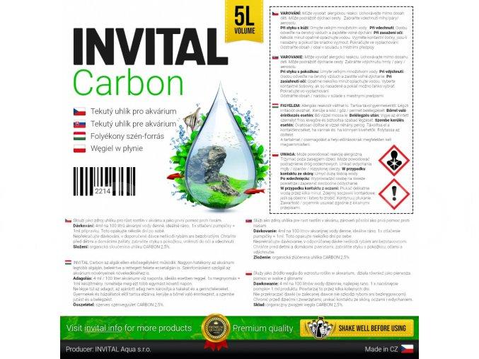 INVITAL CARBON (objem 500 ml)