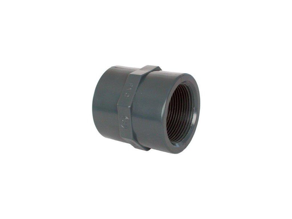 "PVC tvarovka - Mufna 2 1/2"" int."