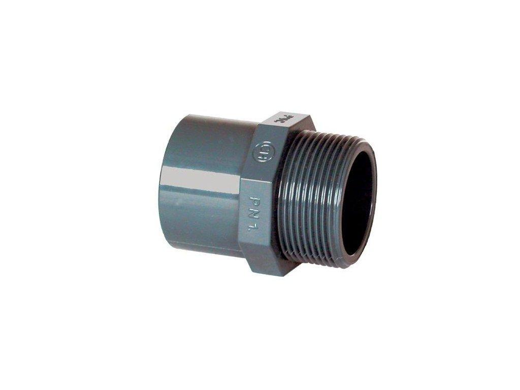 "PVC tvarovka - Přechodka 125–110 x 4"" ext."
