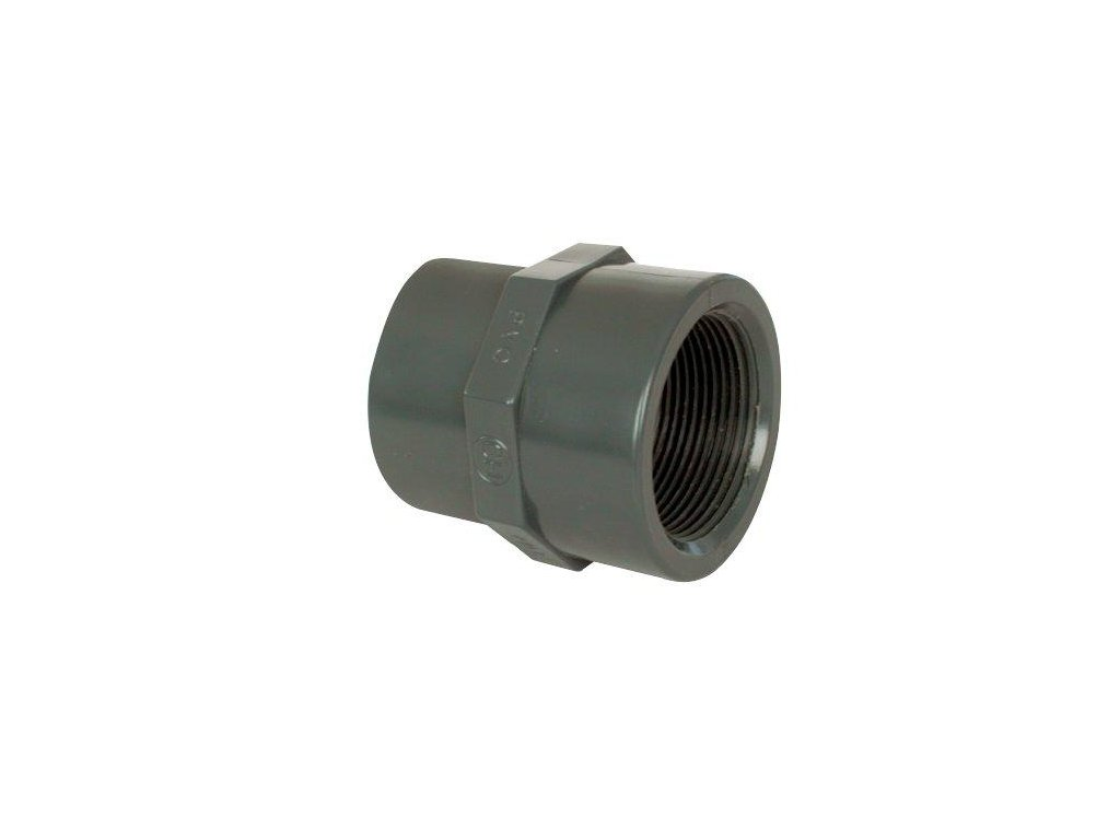"""PVC tvarovka - Mufna přechod. red. 40--32 x 1 1/4"""" int."""