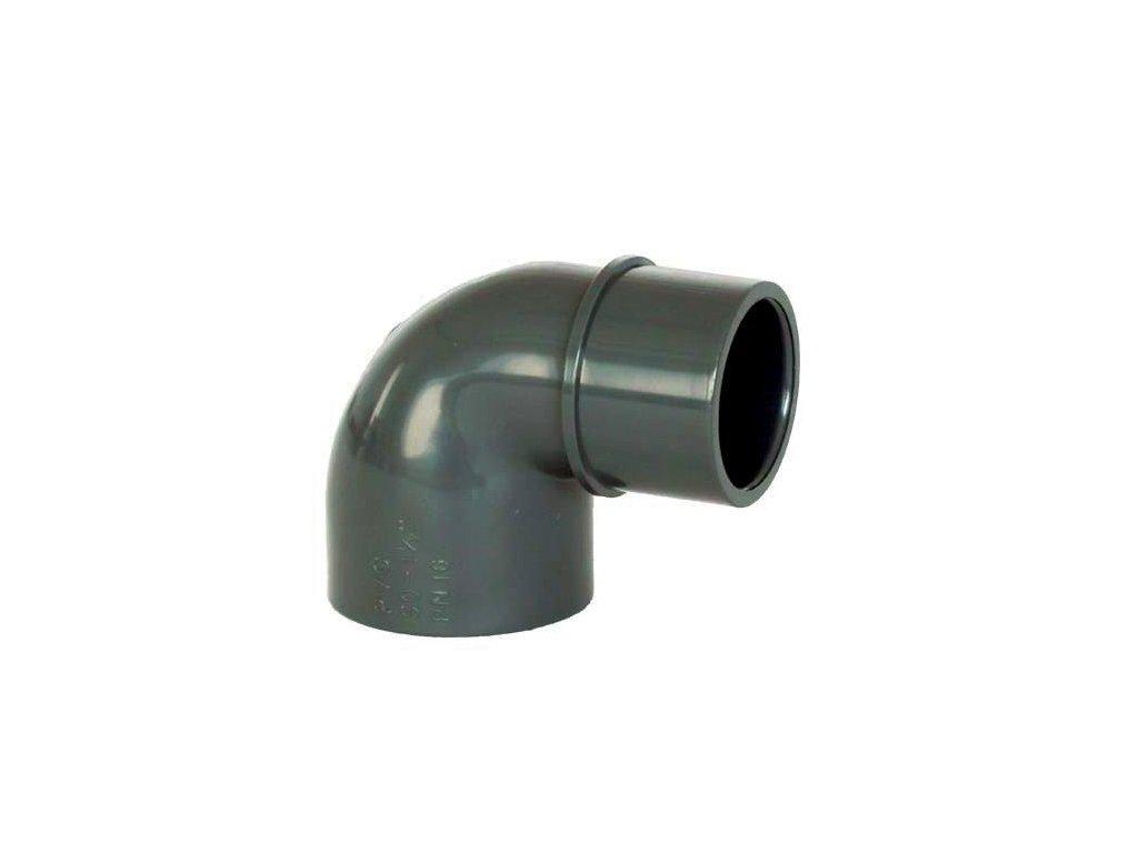PVC tvarovka - Úhel 90° 50 int. x 50 ext.