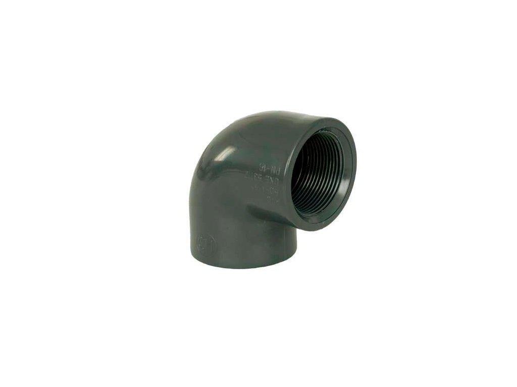 "PVC tvarovka - Úhel 90° 1 1/2"" int. x 1 1/2"" int."