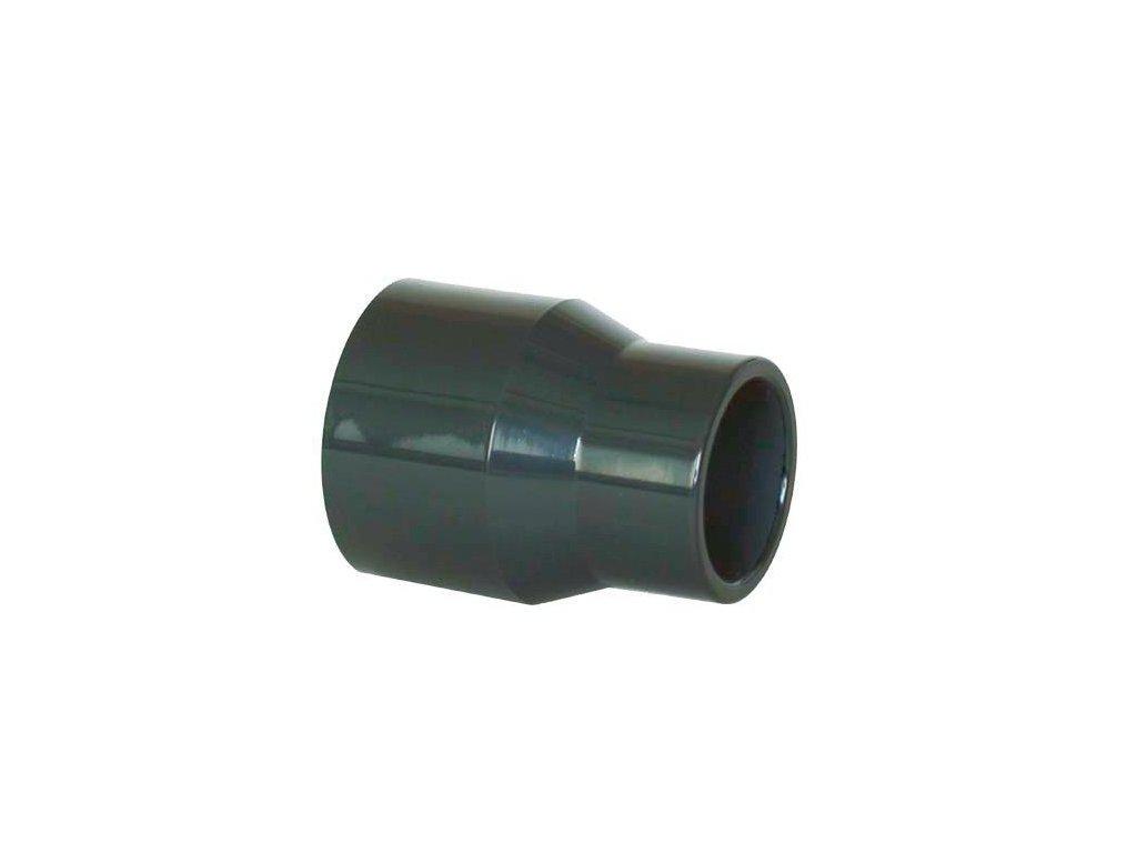 PVC tvarovka - Redukce dlouhá 63–50 x 20 mm