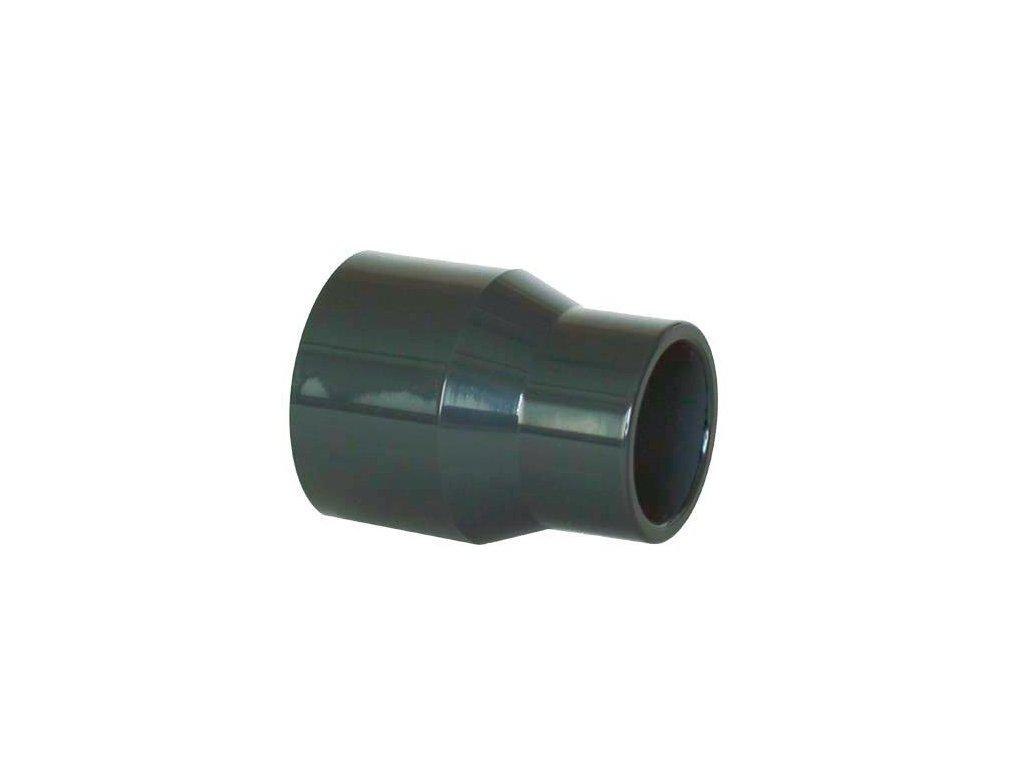 PVC tvarovka - Redukce dlouhá 90–75 x 50 mm