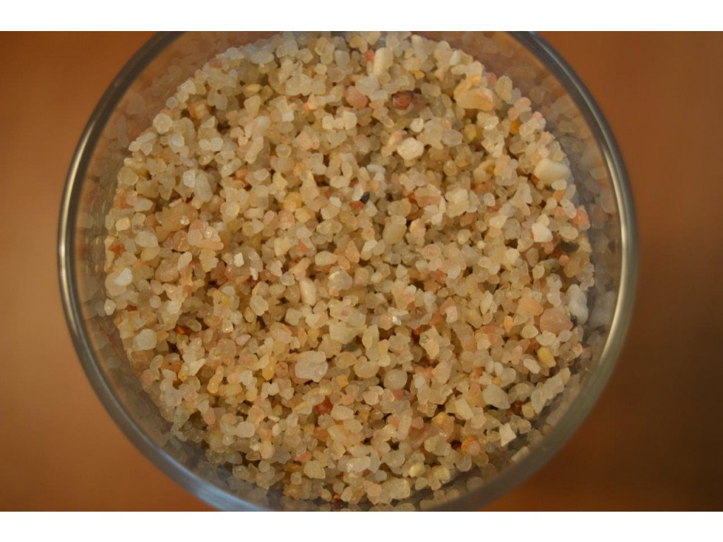 Filtrační písek - frakce 1,0--4,0 mm -- baleno po 25 kg