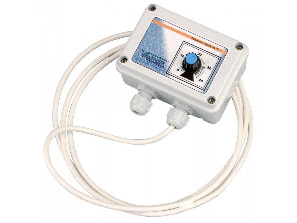 Elektronický termostat samostatně v krabičce IP 55